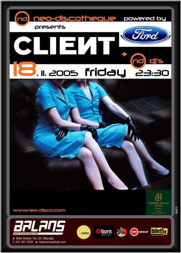 NeoDiscotheque Client