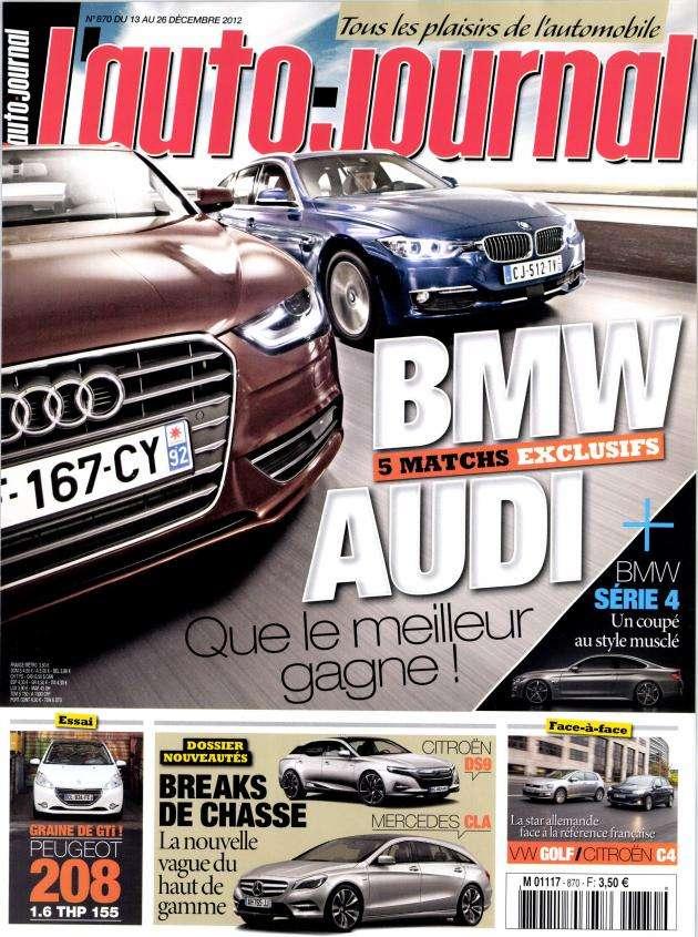 L'Auto Journal N°870 du 13 au 26 Décembre 2012