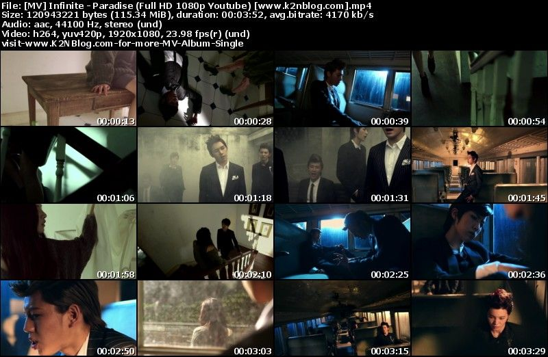 [MV] Infinite   Paradise (Full HD 1080p Youtube)