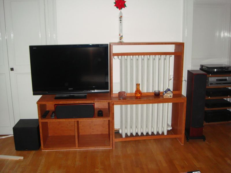 mettre un meuble devant un radiateur. Black Bedroom Furniture Sets. Home Design Ideas