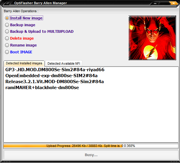 Dreambox OptiFlasher v1.0.8 Pro Enigma2 EDition