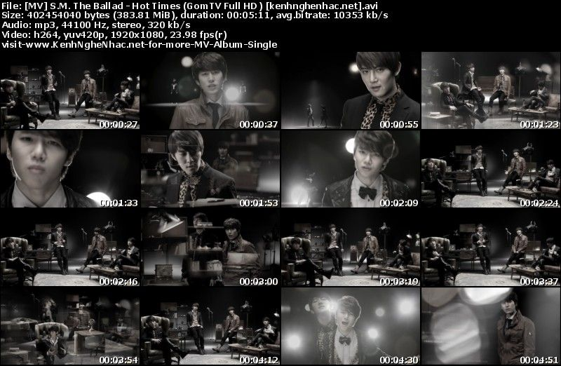 [MV] S.M. The Ballad   Hot Times (GomTV Full HD 1080p)