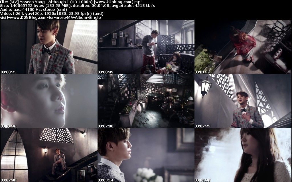 [MV] Yoseob - Embora eu [HD 1080p Youtube]