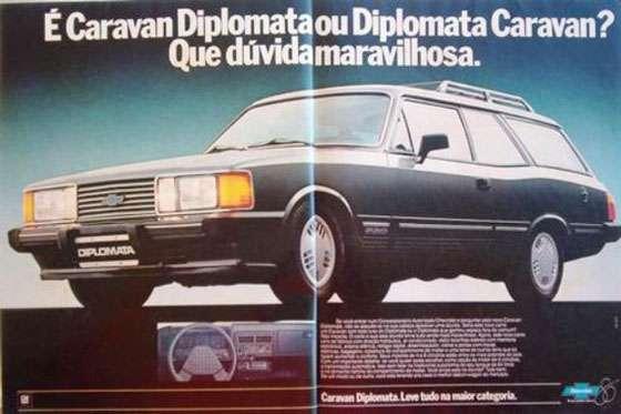 É Caravan Diplomata ou Diplomata Caravan? Que dúvida maravilhosa. Caravan Diplomata. Leve tudo na maior categoria.