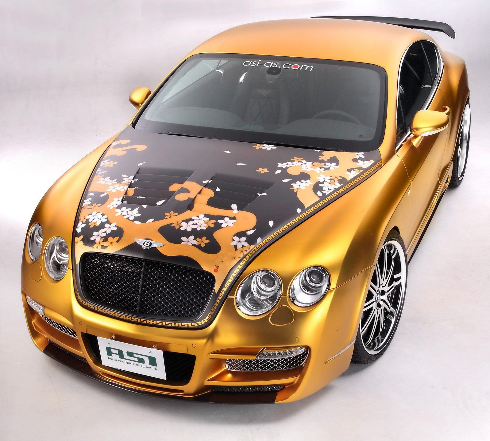 Bentley 2010: POWER CARS: Bentley Continental GT By ASI